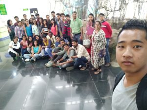 AAAD-3rd sem Students on Case Study Trip