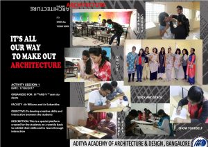 AAAD-Activity to Develop Creative Skills & Interaction Between the Students